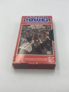 Mattel CAPTAIN POWER Bio Dread Action Figure VHS Tape