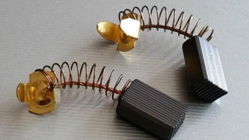Carbone Motore 15x10x6 mm con molla e cavi di contatto e molla schleifkohle NUOVO