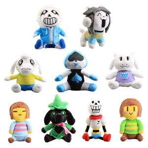 Undertale-Plush-Toy-Sans-Temmie-Toriel-Asriel-Lancer-Ralsei-Stuffed-Doll-Figures
