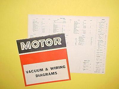 1965 1966 1967 1968 1969 pontiac grand prix bonneville vacuumwiring  diagrams  ebay
