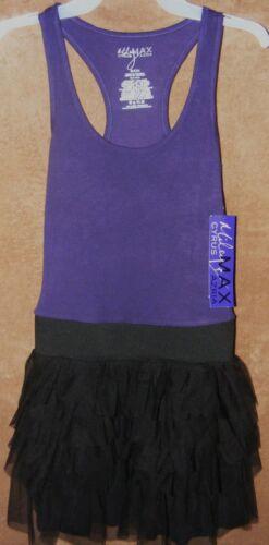 NEW Miley//Max Juniors Womens Ruffle Purple Dress S M L
