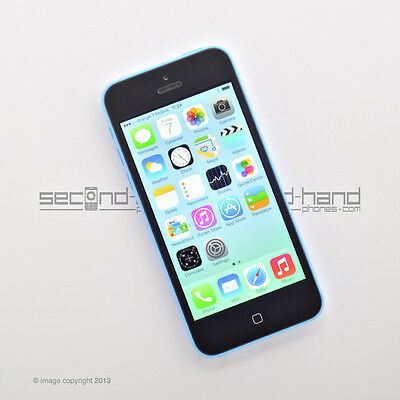 Apple iPhone 5C 8GB Blue (Unlocked/SIM FREE)  - 1 Year Warranty