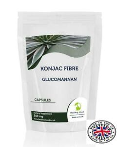 Konjac-Fibre-500mg-Glucomannan-90-Capsules-Pills-Supplements