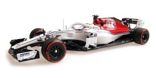 Minichamps 417180609 1 43 2018 Alfa Romeo Sauber C37 M Ericsson Monaco F1 Modelo