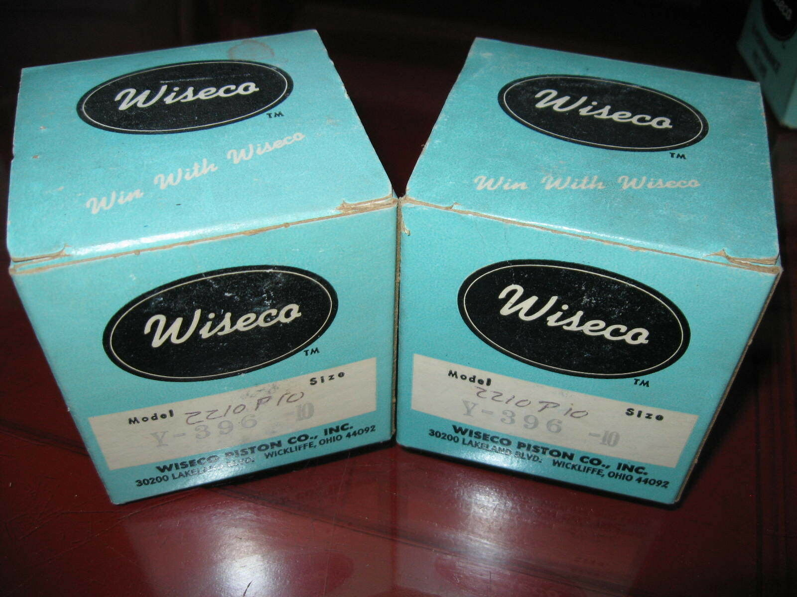 1970  1971 Yamaha GP396_SL396 Vintage Snowmobile Wiseco Piston Kits x2_2.5mm os  new products novelty items