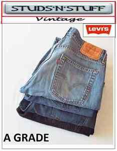 VINTAGE-LEVIS-DENIM-A-GRADE-JEANS-514-039-S-517-039-S-527-039-S-559-039-S-560-039-S-569-039-S