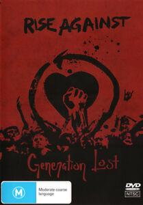 Rise-Against-Generation-Lost-NEW-DVD-Region-4-Australia