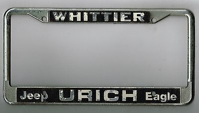 Rare Whittier California Urich Jeep Eagle Vintage Dealer