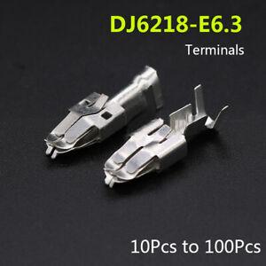 dj6218-e6.3 electrical wire connector crimp terminal for vehicle car fuse  box | ebay  ebay