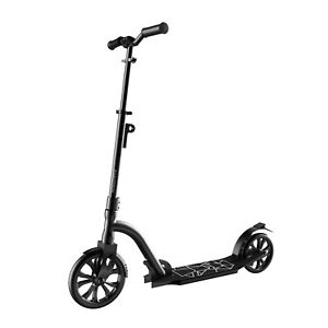 Swagtron K9 Adult Commuter Kick Scooter Foldable Lightweight Height-Adjustable
