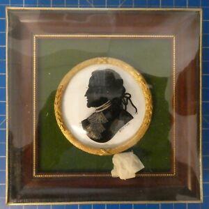Unbekannter-Kuenstler-Hinterglasmalerei-Goethe-kostbar-gerahmt-in-OVP-NOS-H9548