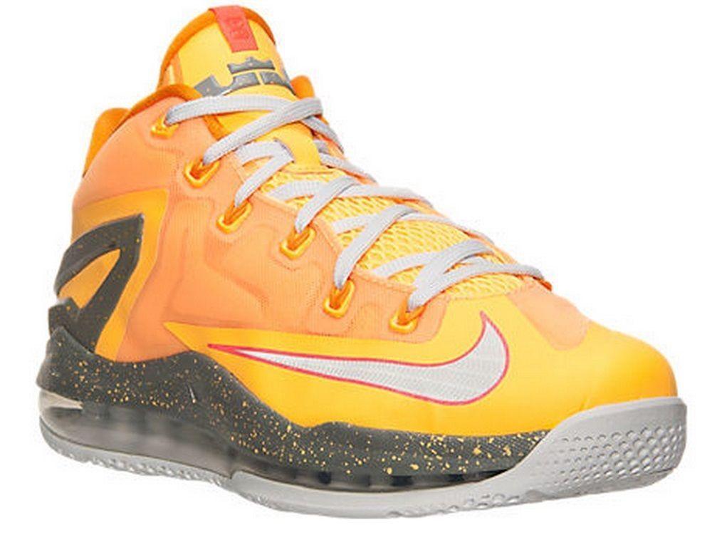 Nike LeBron Mango 11 XI Niedrig Floridians Mango LeBron 642849-800 Basketball Schuhes James Größe 12 e4444b