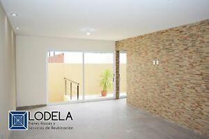 Venta Casa nueva de 4 pisos, 4 recámaras, sótano y 3 terrazas en Villamagna, San Luis Potosí