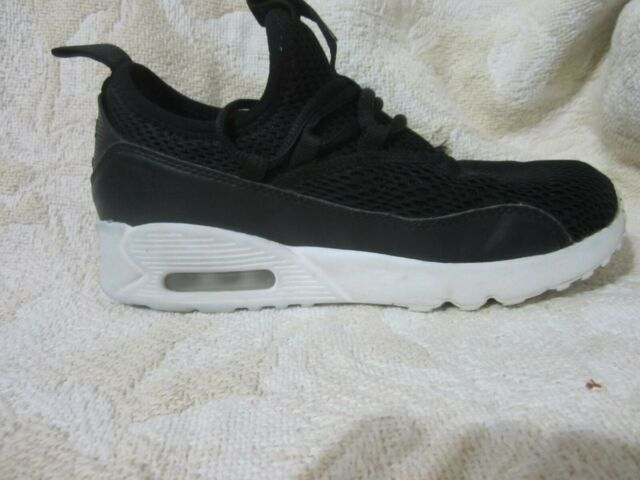 NIKE Air Max 90 EZ Casual LeatherMesh Running Shoes Size 3 YOUTH EUC