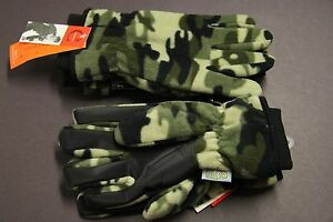 1-Gloves-Camoie-GRAY-ADULTS-MEN-M-L-100-WATERPROOF-THINSULATE-INSULATION-40G