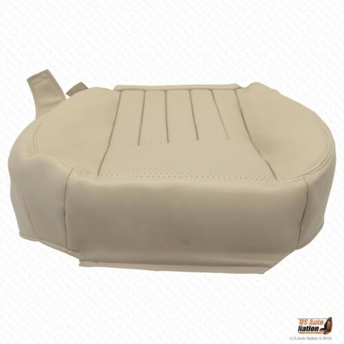 03-04 Lincoln Navigator-DRIVER Bottom AC Cool Heated PERFORATED LEATHER Seat TAN