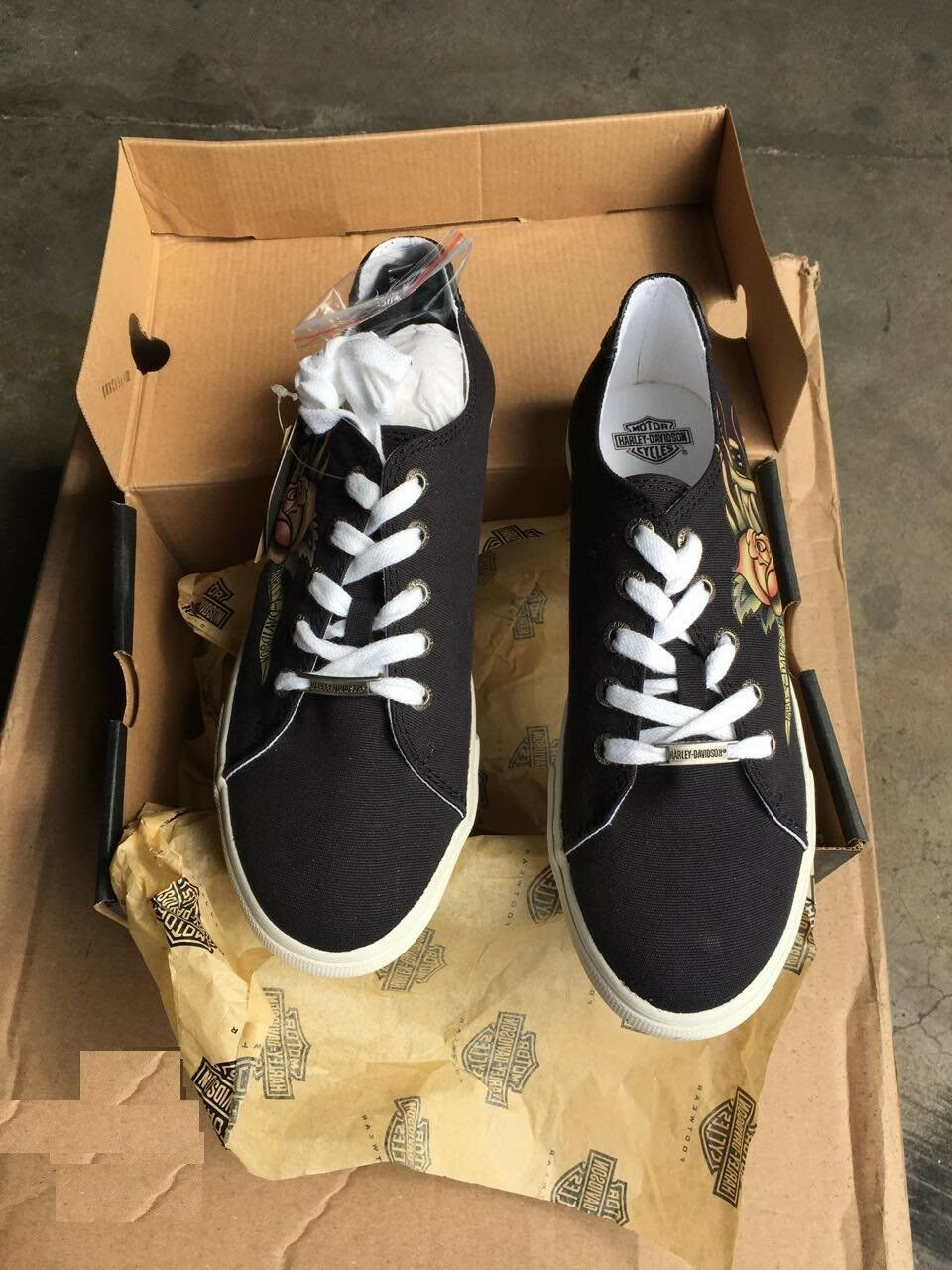 shoes Harley Davidson Size 5.5