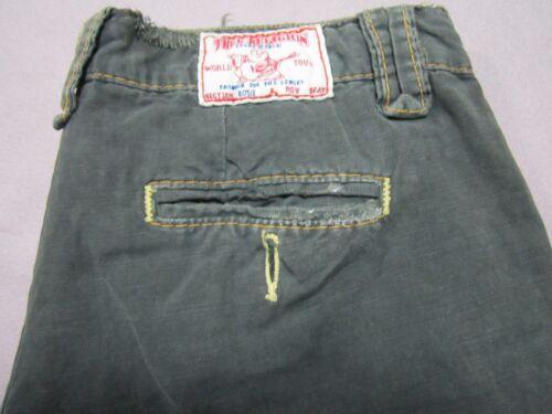 a Womens campione Pantalone gamba Religion Rosie Capri dritta Taglia 28 True Jean q1I5xBwa
