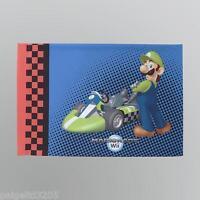 Mario Brothers Kids Super Mario Mariokart Wii Reversible Standard Pillowcase