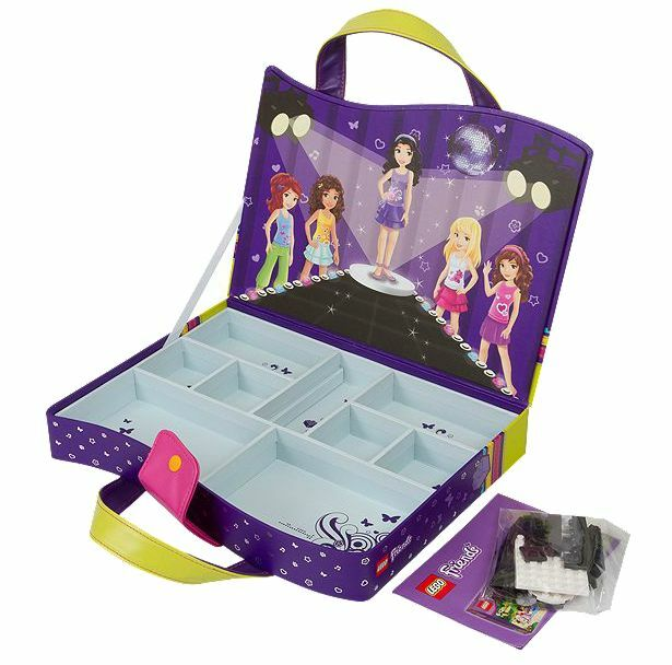 LEGO ® Friends 850597 Scatola Portaoggetti Nuovo OVP _ Carry Case NEW MISB NRFB
