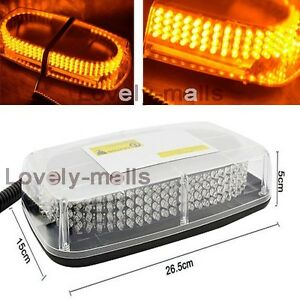 2017 newest deluxe amber 240 led beacon light bar strobe warning image is loading 2017 newest deluxe amber 240 led beacon light aloadofball Image collections