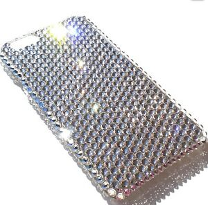 6875abc15 For Galaxy S8 CLEAR Crystal Diamond Bling Rhinestone Back Case made ...