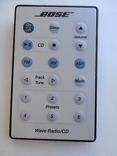 BOSE WAVE RADIO/CD REMOTE CONTROL ORIGINAL WHITE