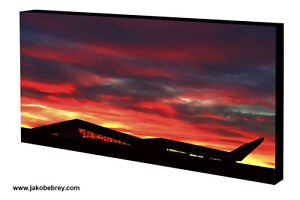 Sunset-Silhouette-Graphic-Motorsport-Art-Canvas-Silverstone-Wing