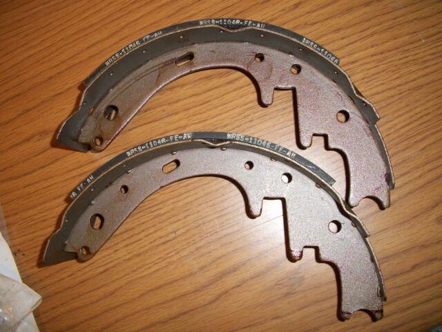 2 New Taylor-Dunn Brake Shoes Kit 41-632-00  4163200 41-632-10 4163210