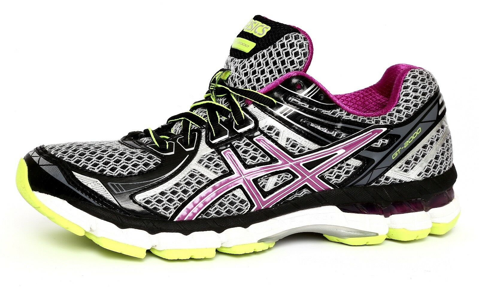 Asics GT-2000 Guidance Line Women's Gel Fluid Ride Multi Color Sneaker Sz 7 1095 Comfortable and good-looking