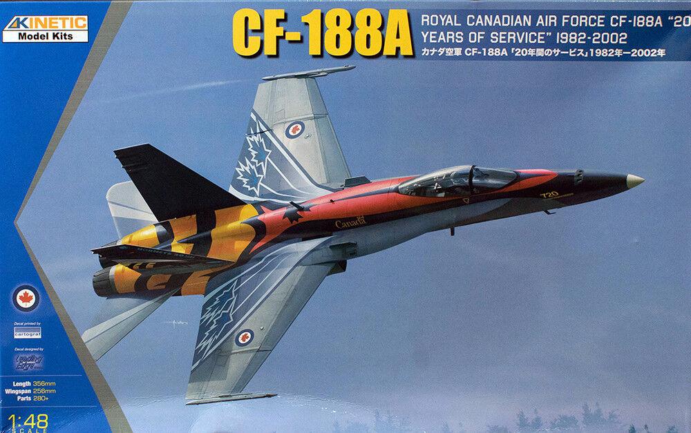 servicio considerado Kinetic 1 48 Cf-188a Royal Canadian Aeronautica Aeronautica Aeronautica   20 Anni di Servizio    alta calidad