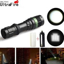 Ultrafire XML-T6 CREE 8000LM LED Flashlight Flexible Flood Light Spot Torch