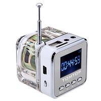 Portable Mini Speaker HiFi Music MP3/4 Player Micro SD/TF USB Disk FM Radio CQ7C