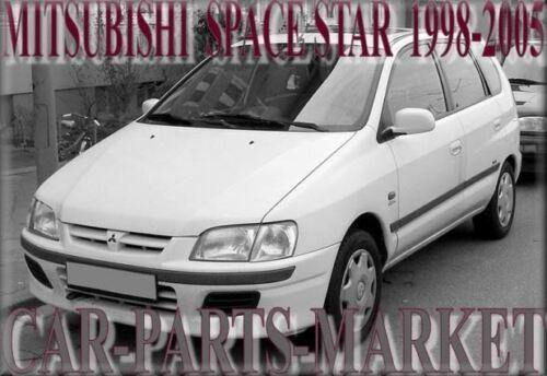 Droit Côté Conducteur Angle Large Aile Miroir De Verre Pour Mitsubishi Space Star 1998-05