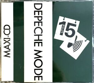 GERMANY-EDITION-CD-MAXI-SINGLE-DEPECHE-MODE-LITTLE-15-COLLECTOR-COMME-NEUF-1988