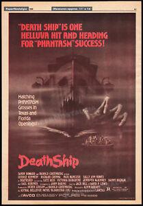 DEATH-SHIP-Original-1980-Trade-AD-promo-poster-RICHARD-CRENNA-NICK-MANCUSO