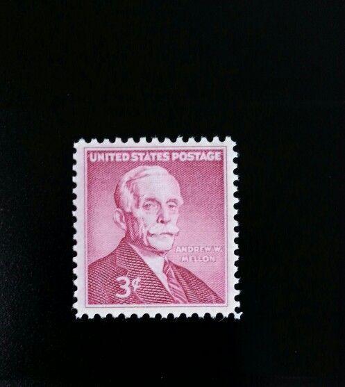 1955 3c Andrew W. Mellon, Secretary of the Treasury Sco