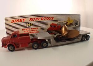 Dinky-Toys-GB-986-Mighty-Antar-Low-Loader-with-Propeller-camion-transport-helice