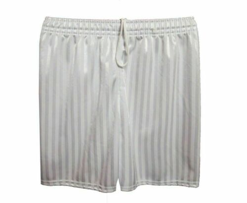 Boys Girls Unisex Kids Children Shadow Stripe Pe Football Shorts Sports School