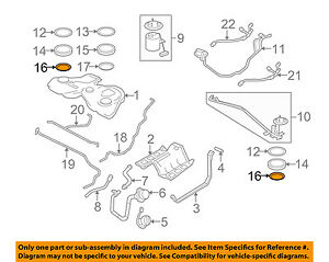 Details about JAGUAR OEM 05-07 S-Type 4.2L-V8 Fuel System-Vapor Valve on