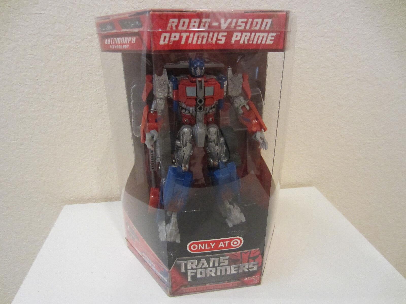 Transformers 2007 movie Atobot Robo-Vision Optimus Prime Target exl Limited MISB