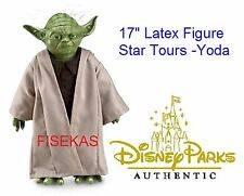 Disney Theme Park Exclusive Star Wars Latex Jedi Master Yoda poseable NEW w/ tag