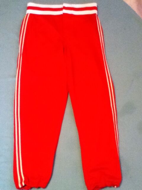 Southland Athletics Baseball Softball pants Size medium ladies womens red sports