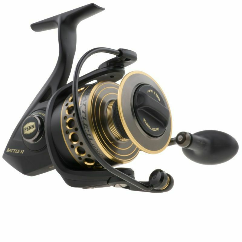 Mulinello Penn Battle II 400050008000 Spin Pesca Spinning Surfcasting  RN