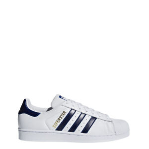 Details about adidas Mens SUPERSTAR WhiteRoyalGold B41996
