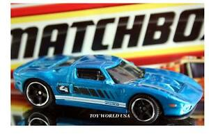 Image Is Loading  Matchbox Exotics Exclusive  Ford Gt Blue