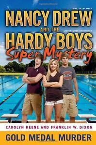 Gold-Medal-Murder-Nancy-Drew-Hardy-Boys-by-Franklin-W-Dixon-Carolyn-Keene
