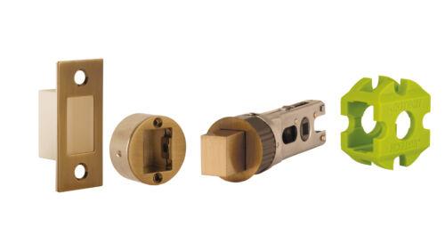 JIGTECH SMARTBOLT Tubular Door Dead Bolts 45mm Backset Chrome Satin Black Brass