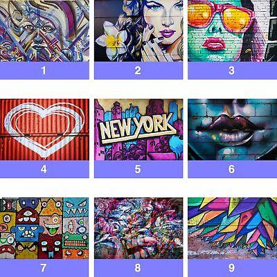 Vlies Fototapete Fototapeten Tapeten STIL BUNTE GRAFFITI STRASSE 14N2295VEXXL