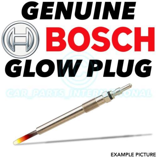 0 250 202 142 1x BOSCH DURATERM GLOWPLUG Glow Diesel Heater Plug GLP008